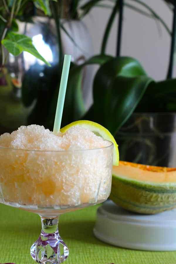 Cantaloupe Granita Recipe — Dishmaps
