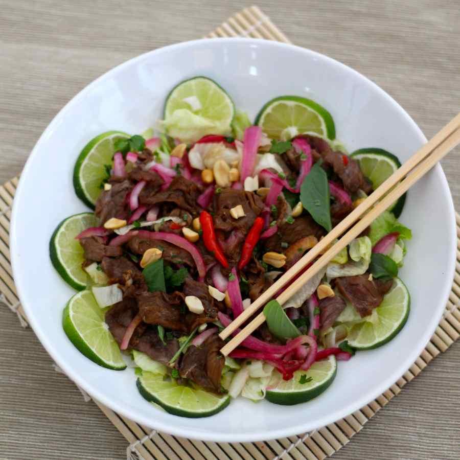 Bò Tái Chanh - Authentic Vietnamese Recipe   196 flavors