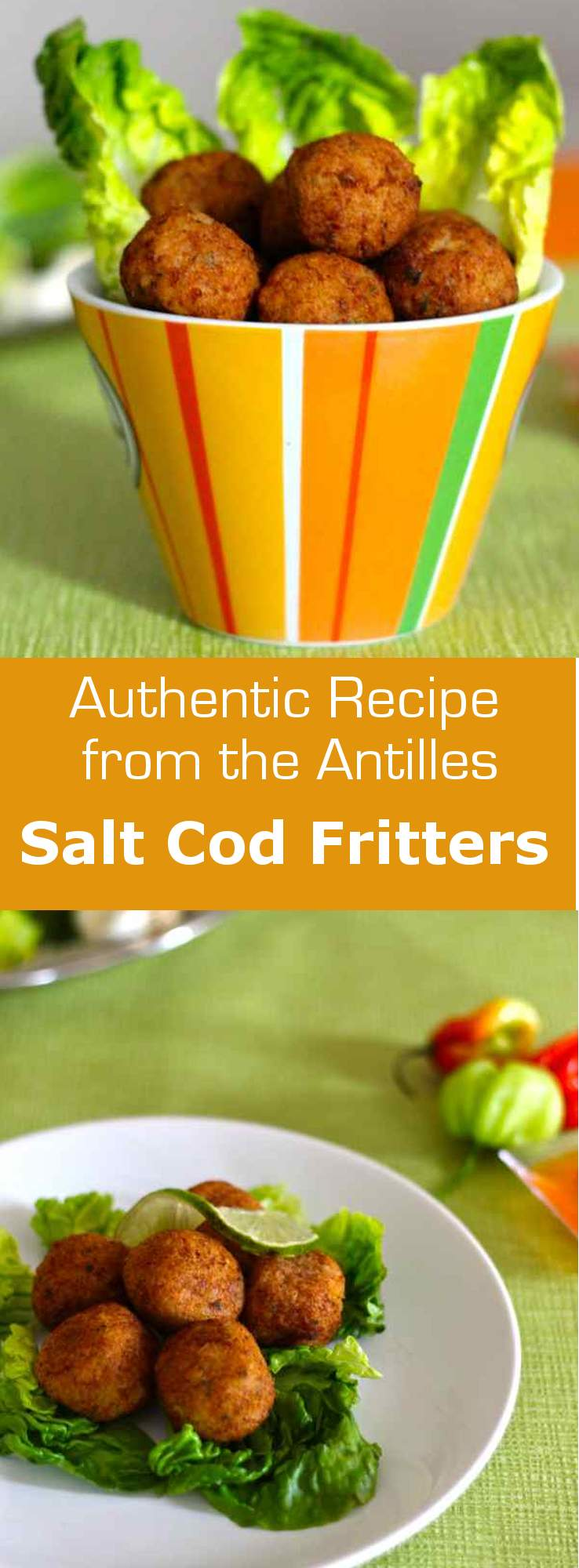 Salt cod fritters (accras de morue) are the traditional spicy and ...