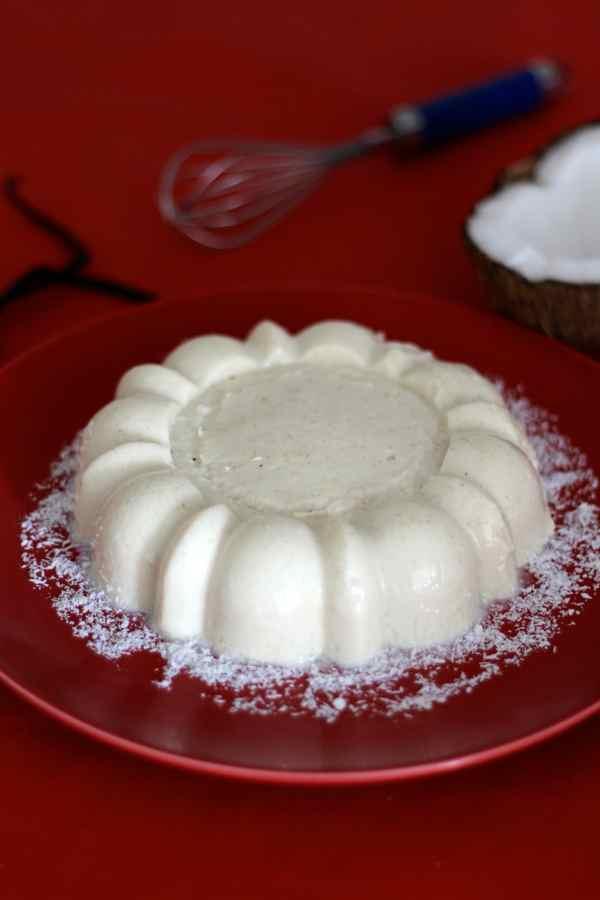 Pistachio Blancmanges Recipe — Dishmaps