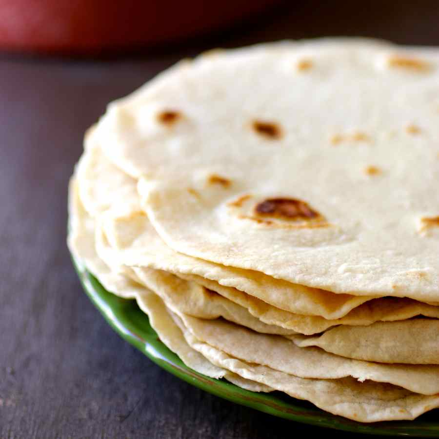 Flour Tortilla Traditional Mexican Recipe 196 Flavors