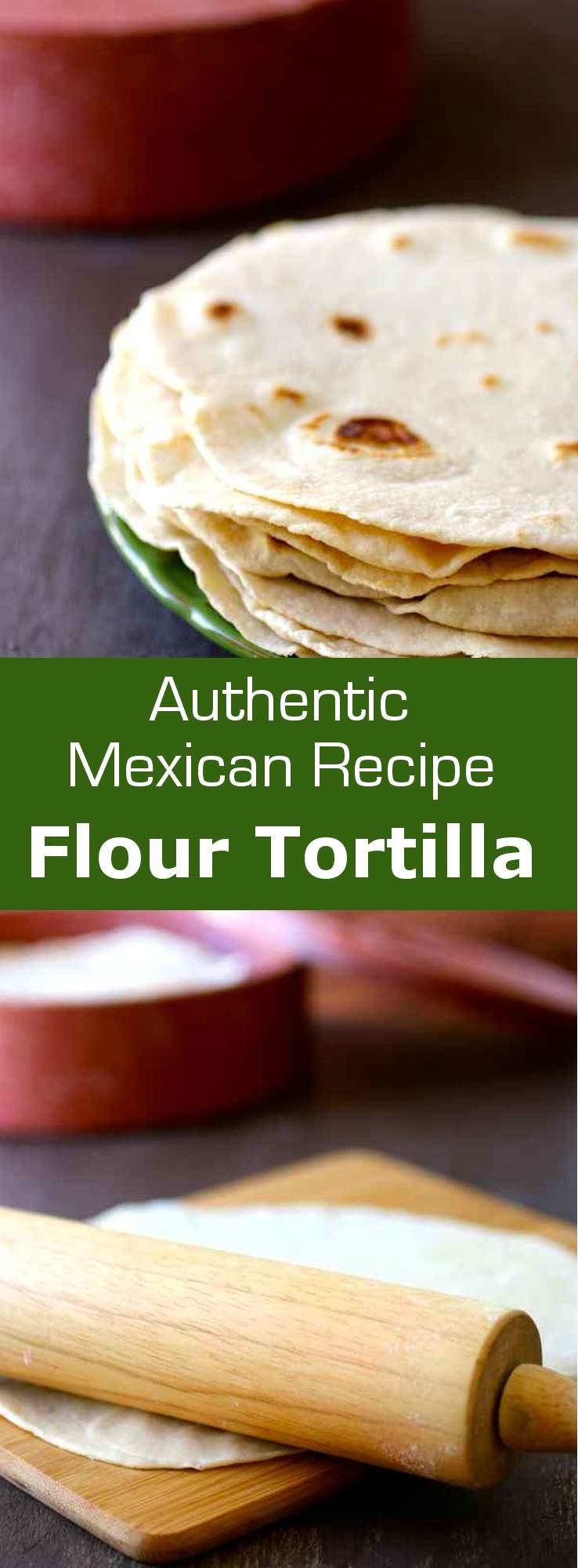 how to make thin flour tortillas