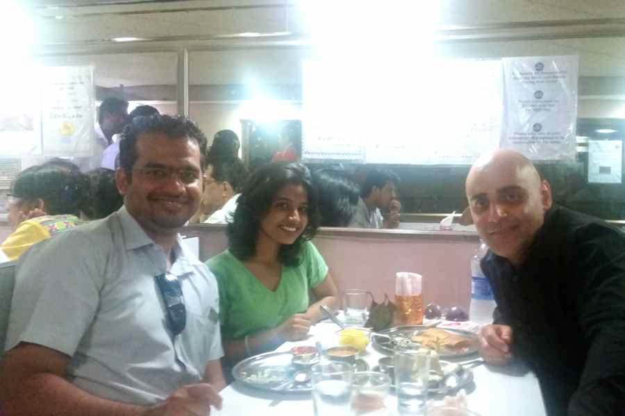 Mike Radhika Rajit at Mysore
