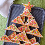 Australia: Fairy Bread Christmas Tree