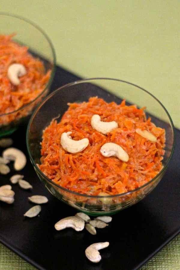 halwa à la carotte
