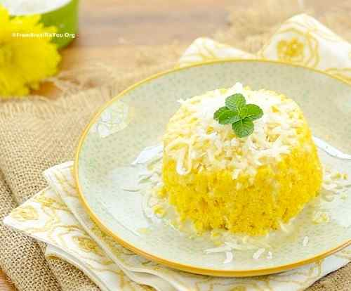 Cornmeal couscous (cuscuz de milho)