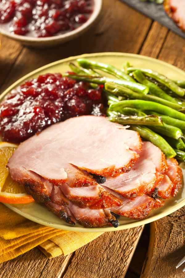 Jamaican Glazed Baked Ham