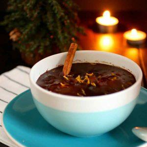 chocolate caliente navidad