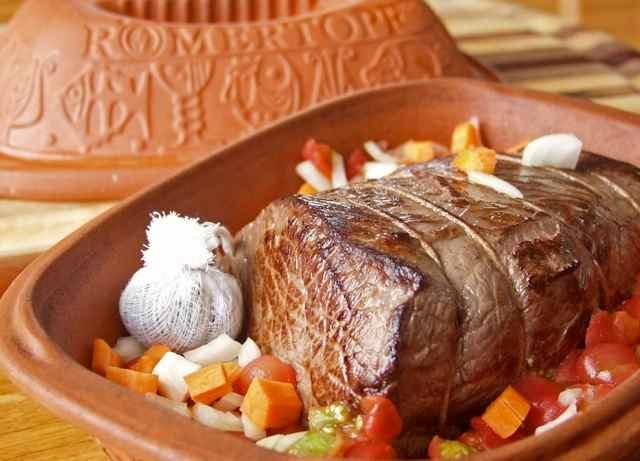 Pot Roast in Romertopf