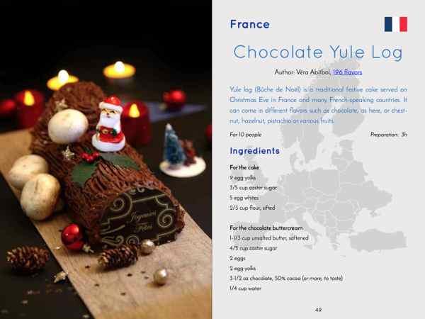 chocolate yule log eBook