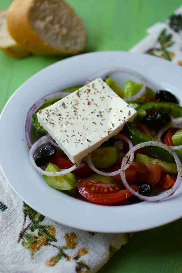 Greek Salad - Horiatiki Salata