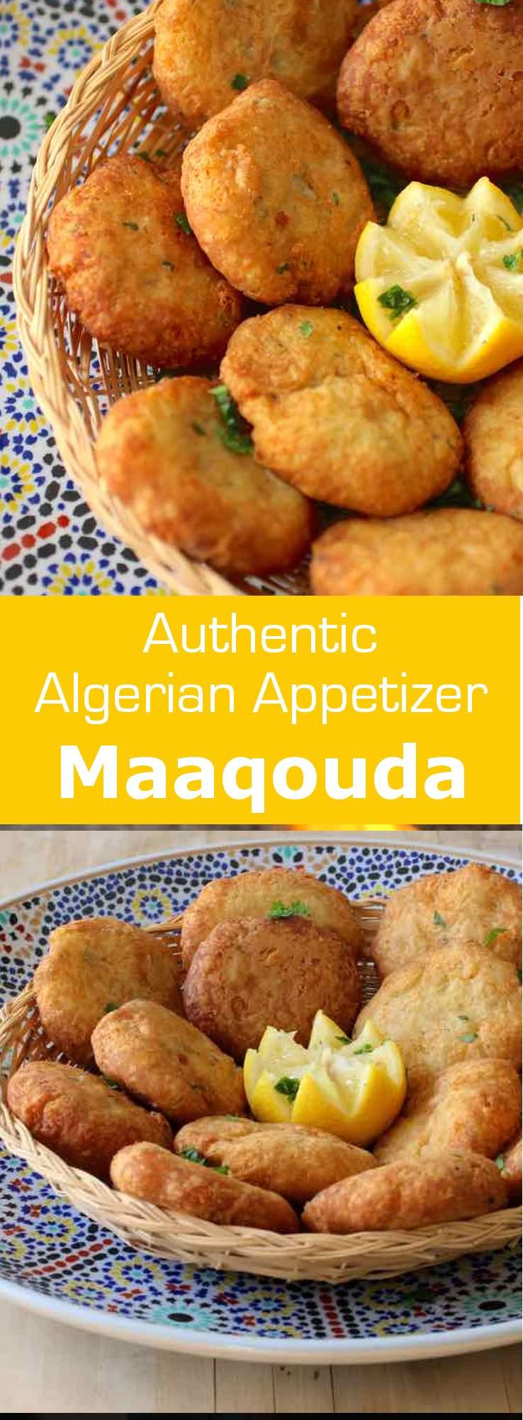 Maaqouda is a potato fritter recipe that is popular throughout North Africa. It is especially prepared during the Ramadan period. #algeria #tunisia #algeria #maghreb #ramadan #196flavors