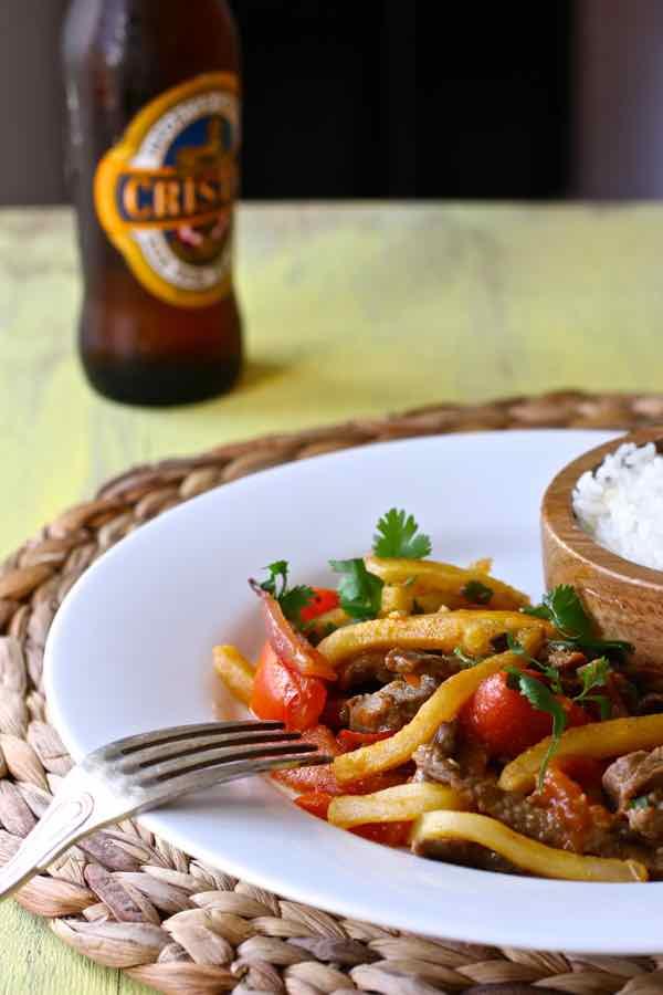 Lomo saltado traditional peruvian recipe 196 flavors lomo saltado forumfinder Choice Image