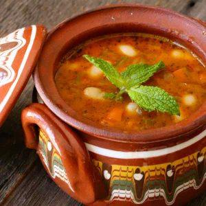 Bulgaria: Bob Chorba (Bean Soup)