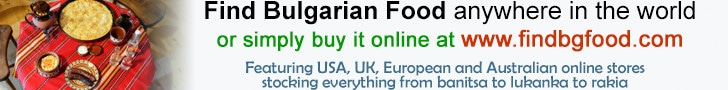 Find Bulgarian Food anywhere in the world – or simply buy online at www.findbgfood.com