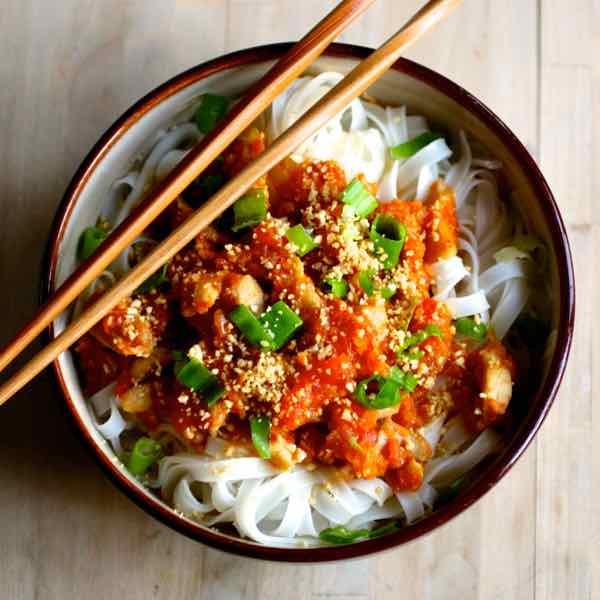 Shan Noodles Authentic Burmese Recipe 196 Flavors
