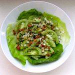 Myanmar: Ensalada de Tomate Verde