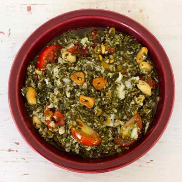 Lahpet Thoke Tea Leaf Salad Traditional Burmese Recipe
