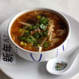 hot and sour soup - potage pekinois