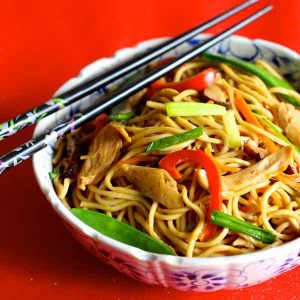 China: Long Life Noodles (Chang Shou Mian)