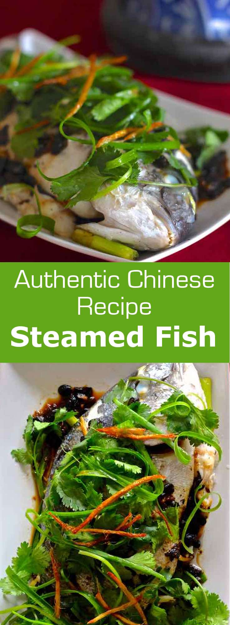 Steamed fish is one of the most emblematic dishes of the Chinese New Year. A dish that brings good luck and symbolizes abundance and prosperity. #China #ChineseNewYear #196flavors