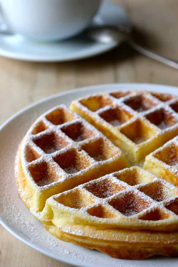 Authentic belgian waffle recipes