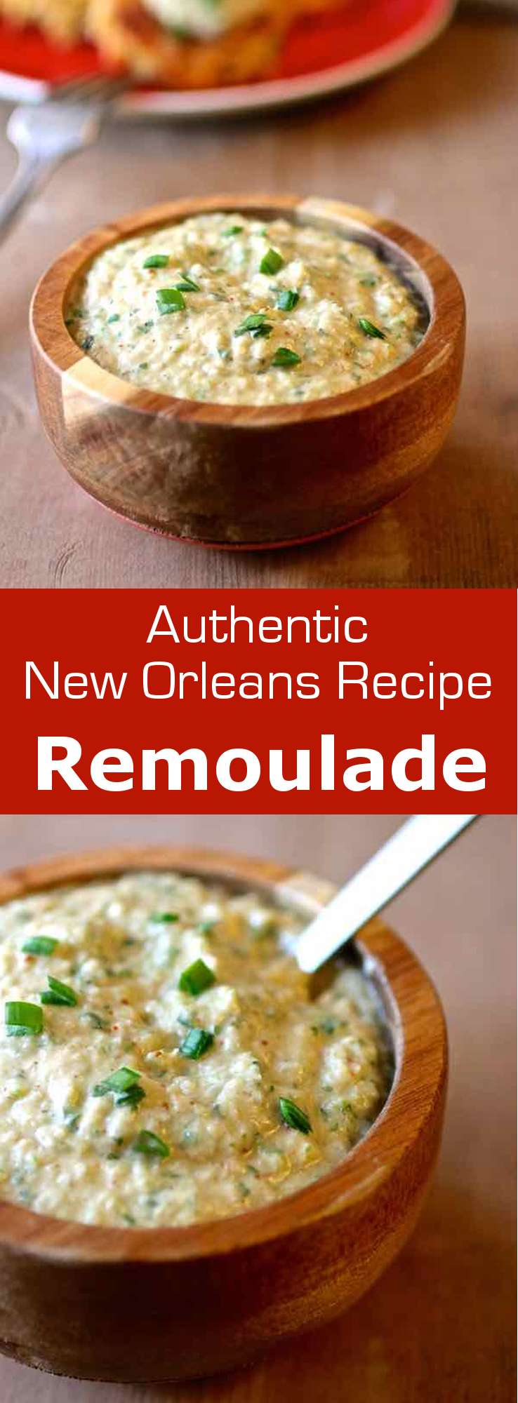 Remoulade sauce is a  condiment that originated in France and is now popular in Louisiana. It is often served with fish, seafood or cold meat. #sauce #NewOrleans #Louisiana #condiment #196flavors