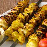 Irán: Jujeh Kabob (Kebab de Pollo)