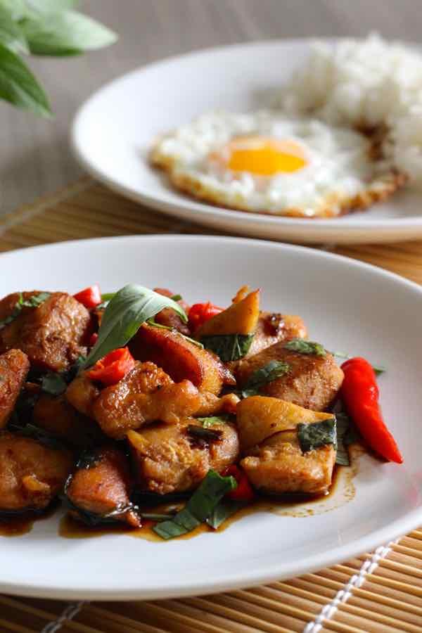 Pad Kra Pao Gai Recipe