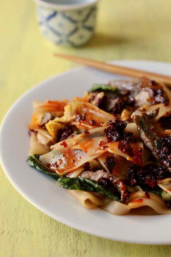 Thai Stir Fried Noodles Recipe