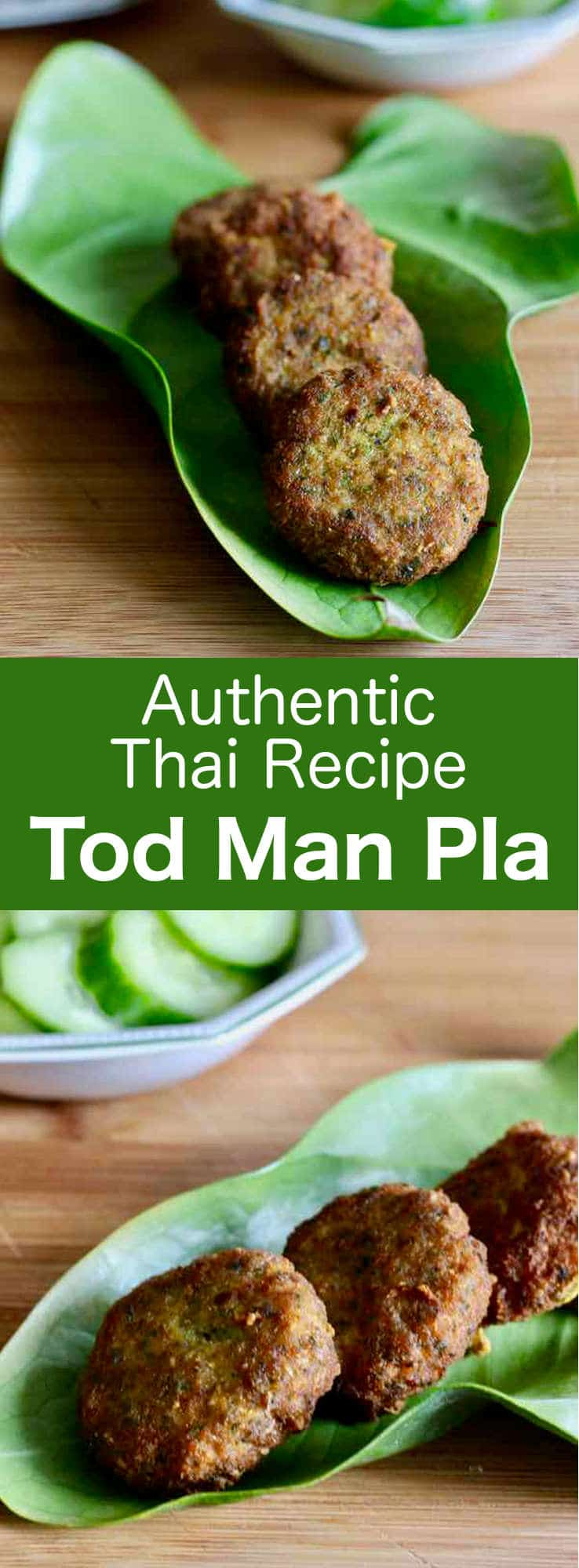 Tod man pla are delicious small fish cakes prepared with yardlong beans that are very popular in Thai street food cuisine. #Thailand #Asian #196flavors