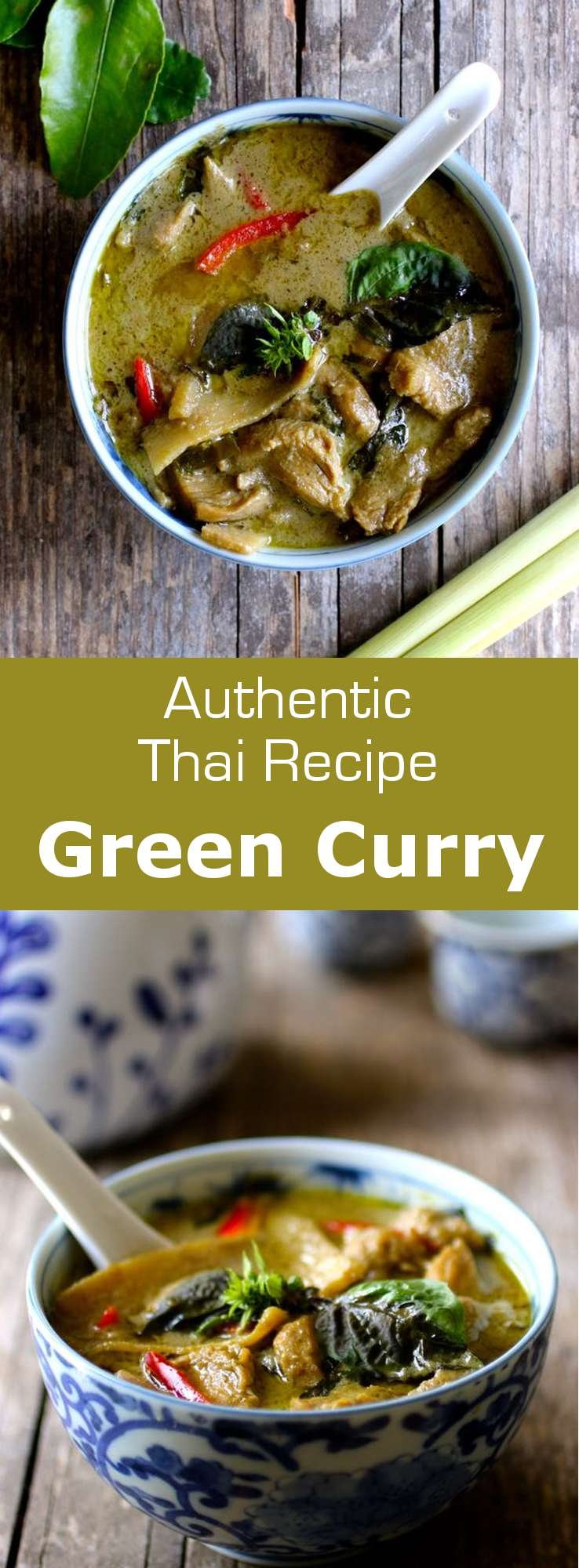 Green curry (kaeng khiao wan) is a pungent and very aromatic Thai curry perfectly combining spicy, salty, sweet and umami flavors. #Thai #Thailand #ThaiCuisine #AsianCuisine #SoutheastAsia #Curry #WorldCuisine #196flavors