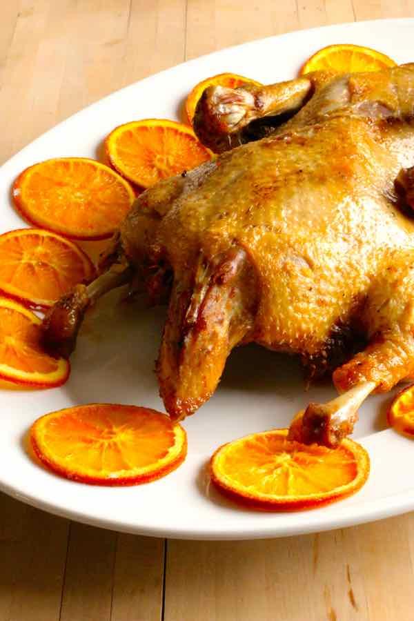 Canard à l'Orange traditionnel