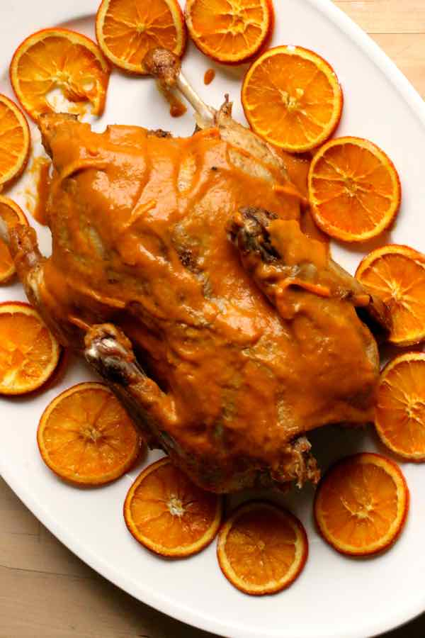 duck à l'orange recipe
