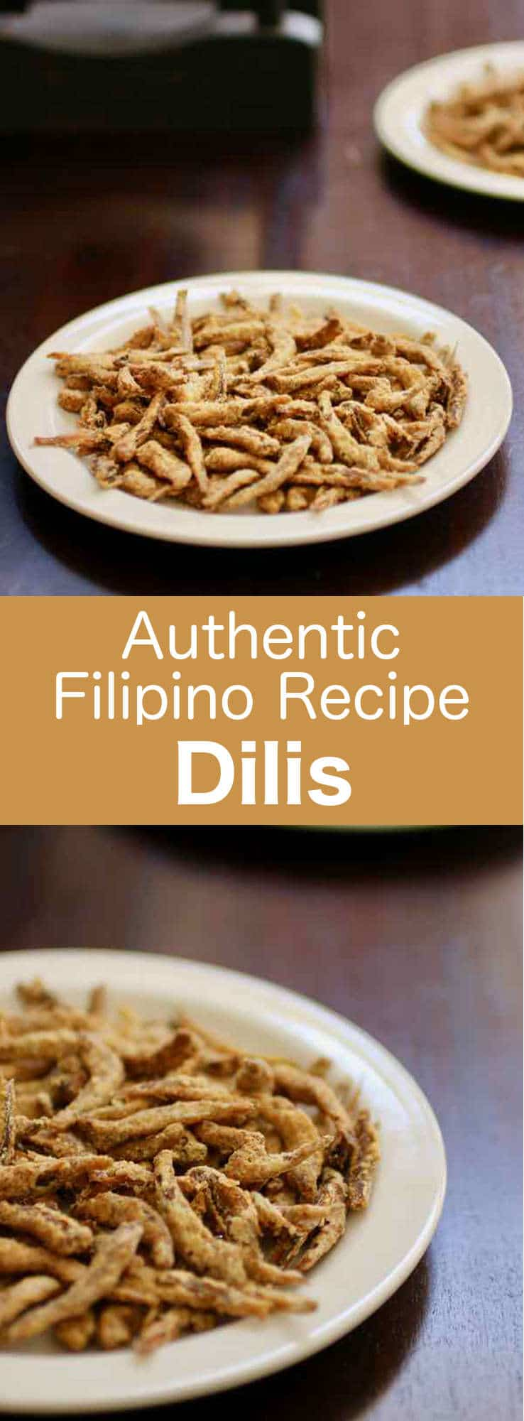 Dilis traditional filipino recipe 196 flavors dilis are a filipino delicacy consisting of anchovies often dried that are lightly battered forumfinder Choice Image