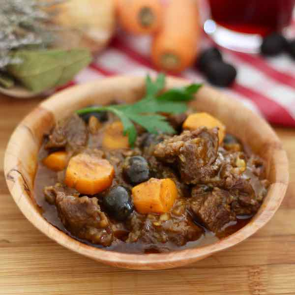 Daube proven ale recette traditionnelle fran aise 196 - Recette cuisine provencale traditionnelle ...