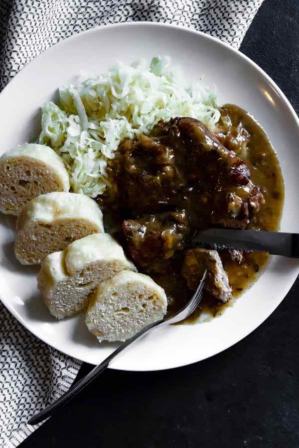 Czech pork sauerkraut