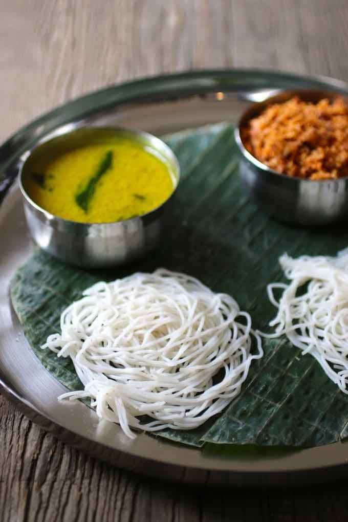 kiri hodi and idiyappam