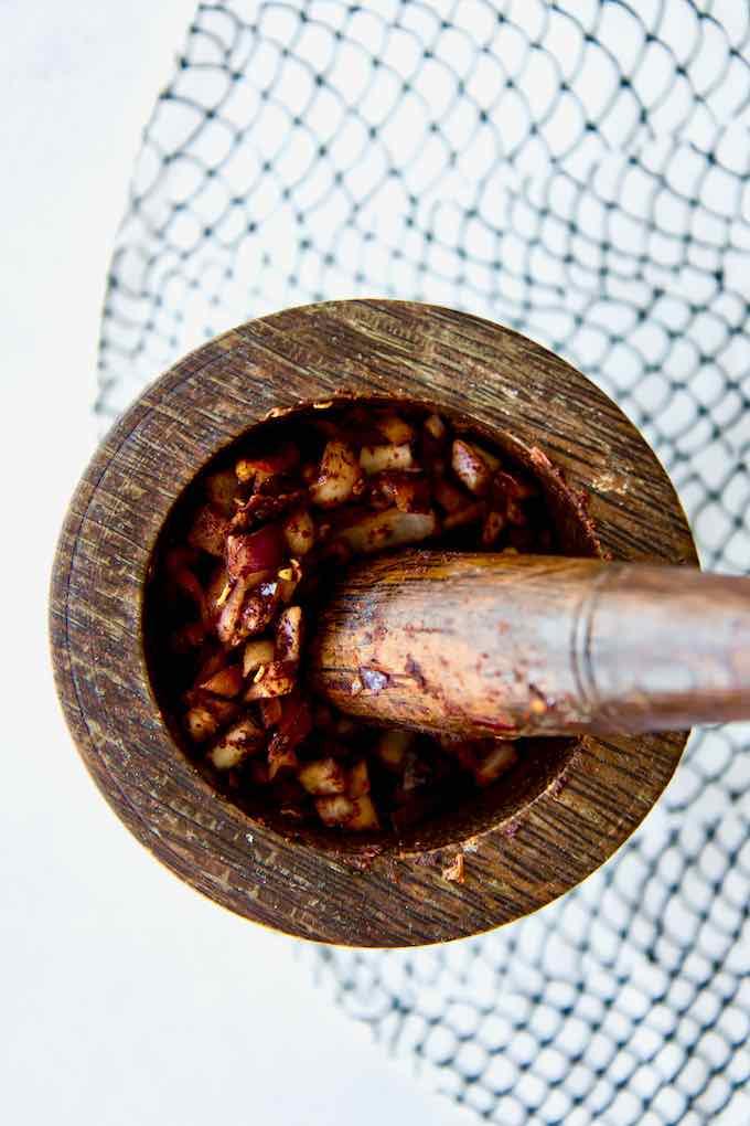 sambal épicé