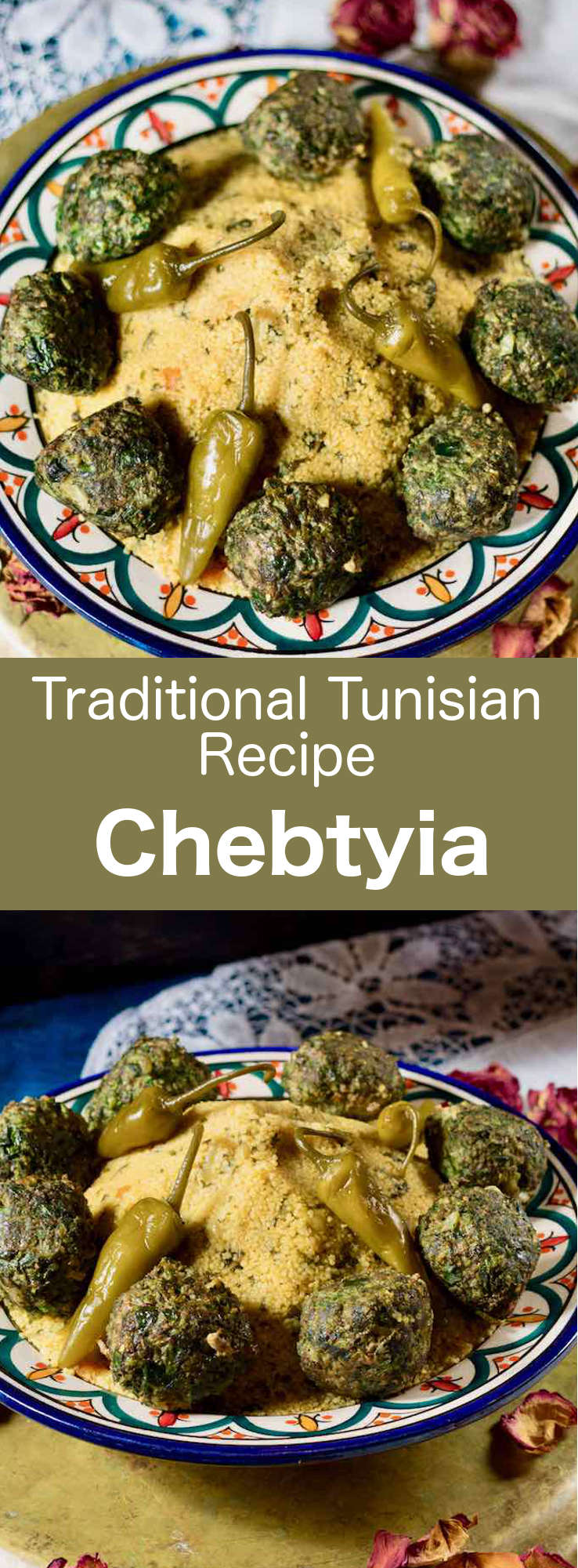 Chebtiya are delicious dill-scented Tunisian meatballs that can be enjoyed by themselves, with a sauce or served over couscous. #Tunisia #Tunisian #TunisianCuisine #TunisianRecipe #NorthAfricanCuisine #NorthAfricanRecipe #NorthAfrica #Maghreb #MaghrebCuisine #WorldCuisine #196flavors