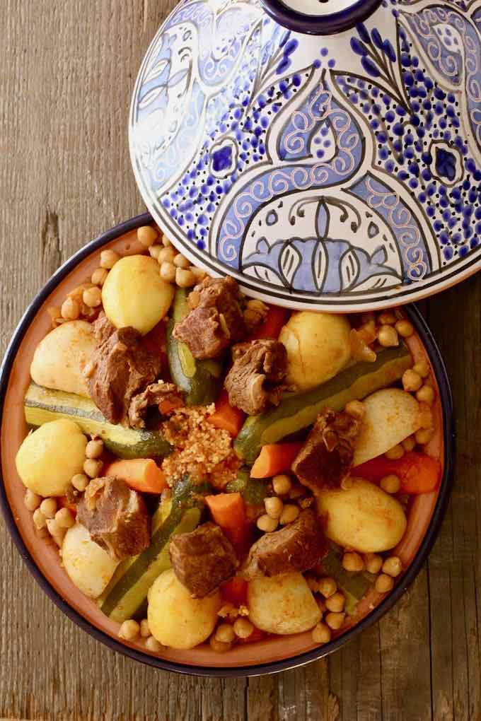 Couscous tunisien recette traditionnelle tunisienne 196 flavors - Recette cuisine couscous tunisien ...
