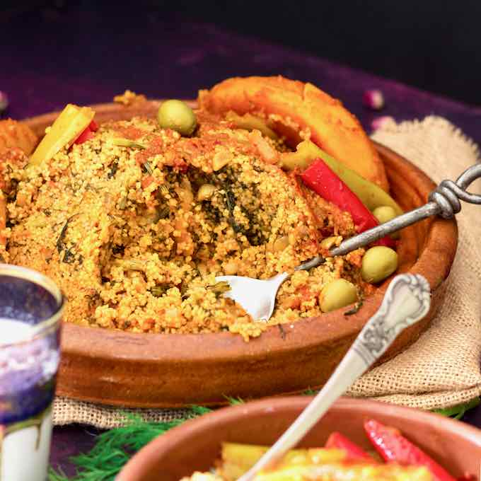 Farfoucha Traditional And Authentic Tunisian Recipe 196 Flavors