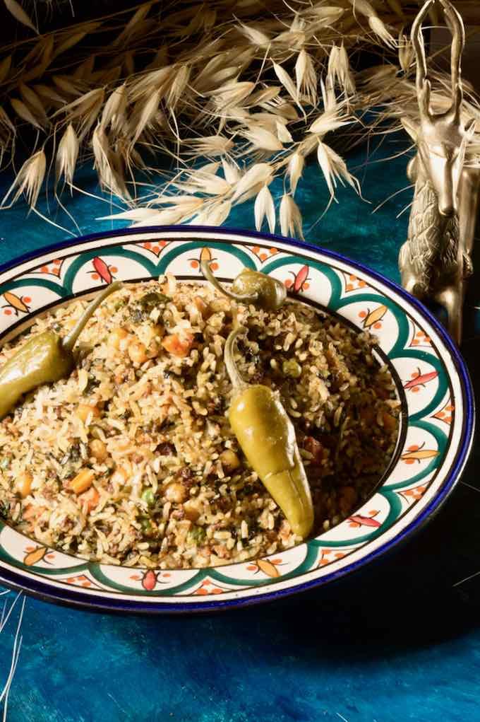 arroz tunecino