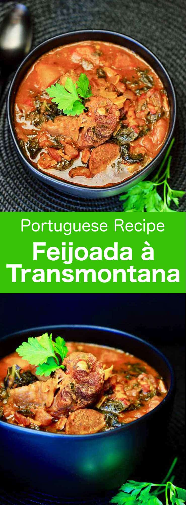 The original feijoada à transmontana is the genesis for all other feijoadas that followed. It is a deliciously balanced dish of sausages, meats, red beans and cabbage. #Portugal #PortugueseRecipe #WorldCuisine #196flavors