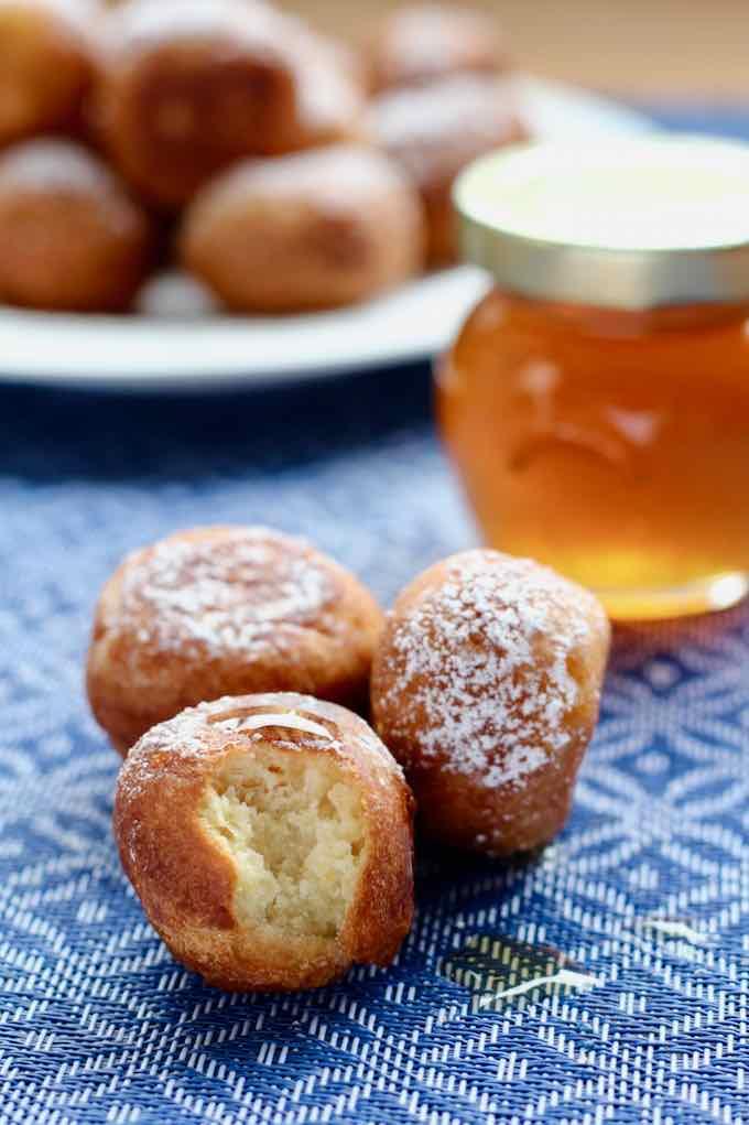 beignets au miel