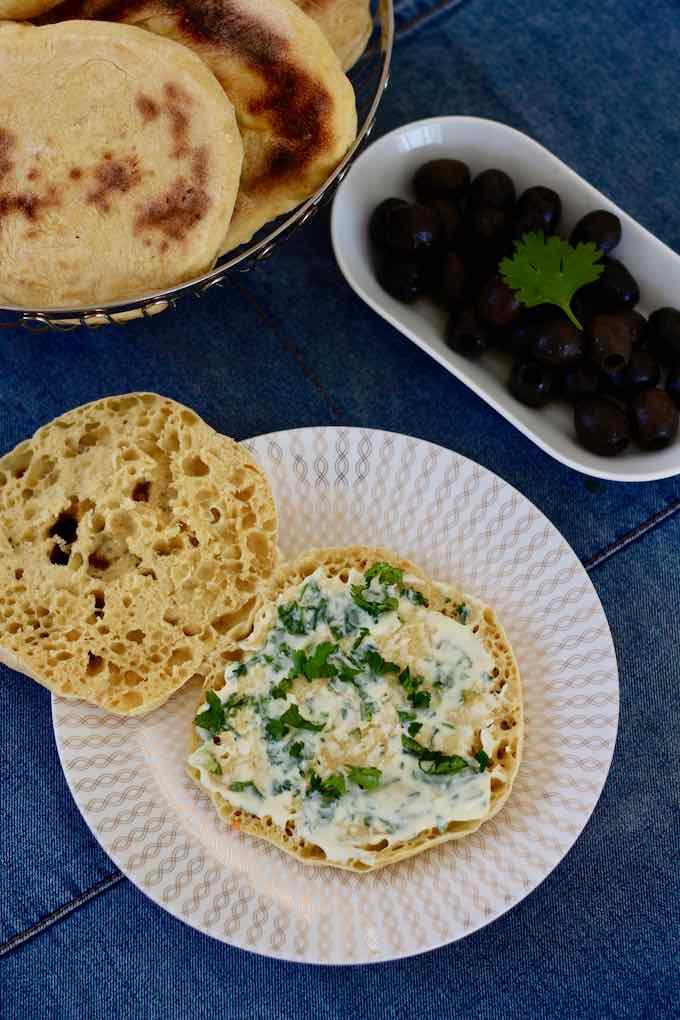 Portuguese flatbread