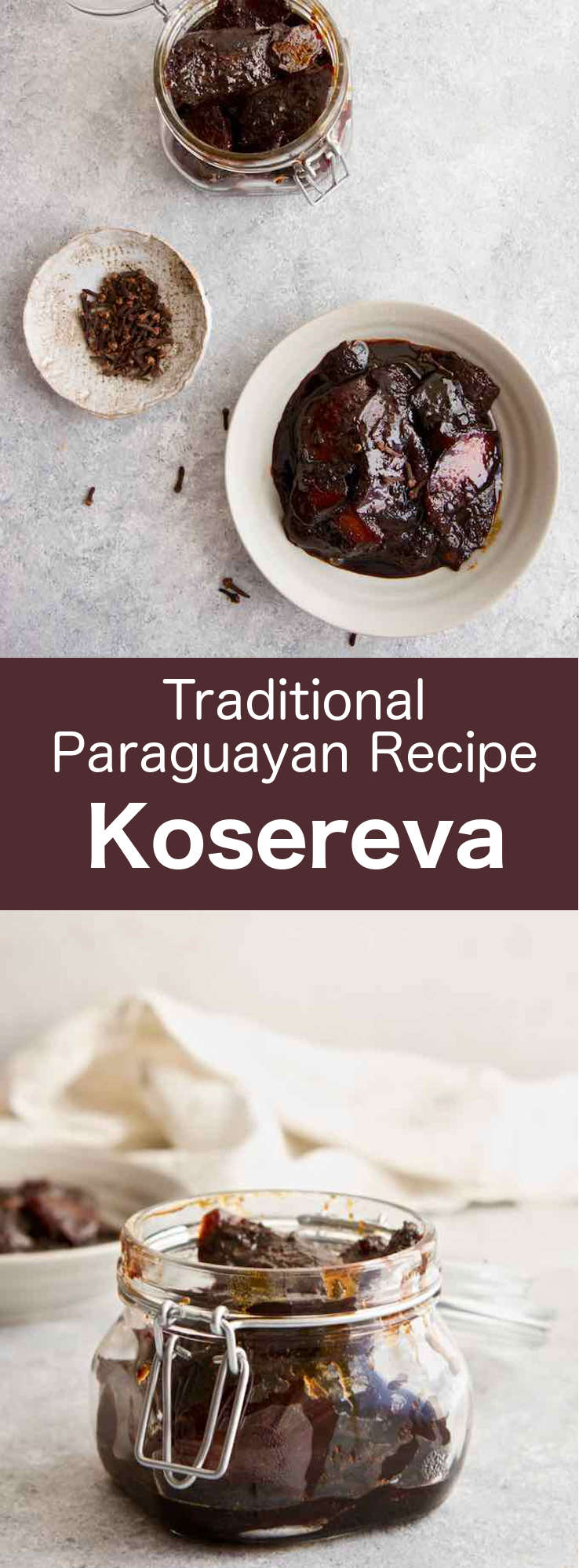 Kosereva is a sweet dessert from Paraguay prepared with apepu sour orange peels, sugar, and molasses. The preserved orange rings are a mixture of sweet and sour, and are typically served by themselves or with a side of soft cheese. #Paraguay #ParaguayanCuisine #ParaguayanRecipe #LatinAmericanCuisine #LatinAmericanRecipe #SouthAmericanCuisine #SouthAmericanRecipe #WorldFlavors #196flavors