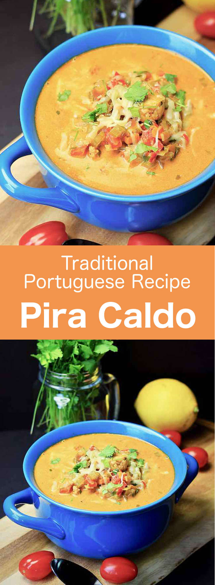 Pira caldo is a delicious traditional fish soup from Paraguay. It is prepared with freshwater catfish, as well as vegetables and Paraguay cheese, a typical soft cheese made from curd. #Paraguay #ParaguayanCuisine #ParaguayanRecipe #LatinAmericanCuisine #LatinAmericanRecipe #SouthAmericanCuisine #SouthAmericanRecipe #Guarani #GuaraniCuisine #WorldFlavors #196flavors