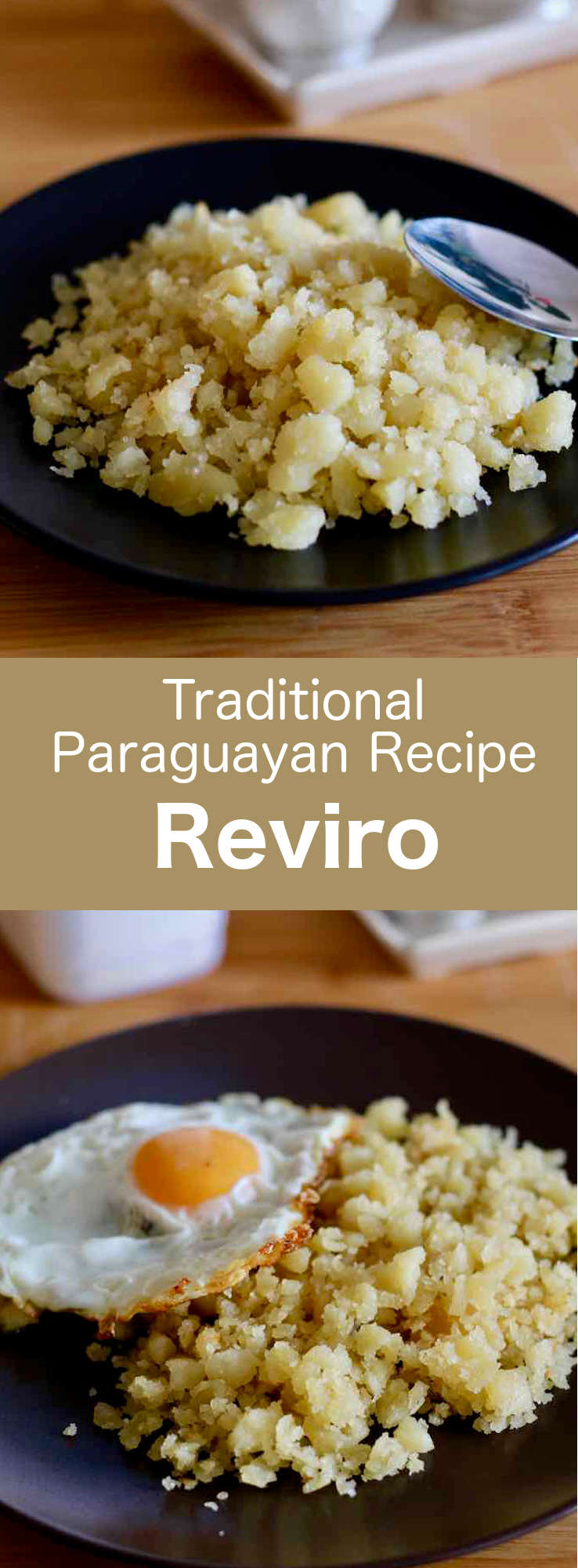 Reviro is a traditional recipe from the Misiones province in the northeast of Argentina, close to the border with Paraguay and Brazil. It consists of a fried dough that is broken into small croutons. #Paraguay #ParaguayanCuisine #ParaguayanRecipe #LatinAmericanCuisine #LatinAmericanRecipe #SouthAmericanCuisine #SouthAmericanRecipe #WorldFlavors #196flavors
