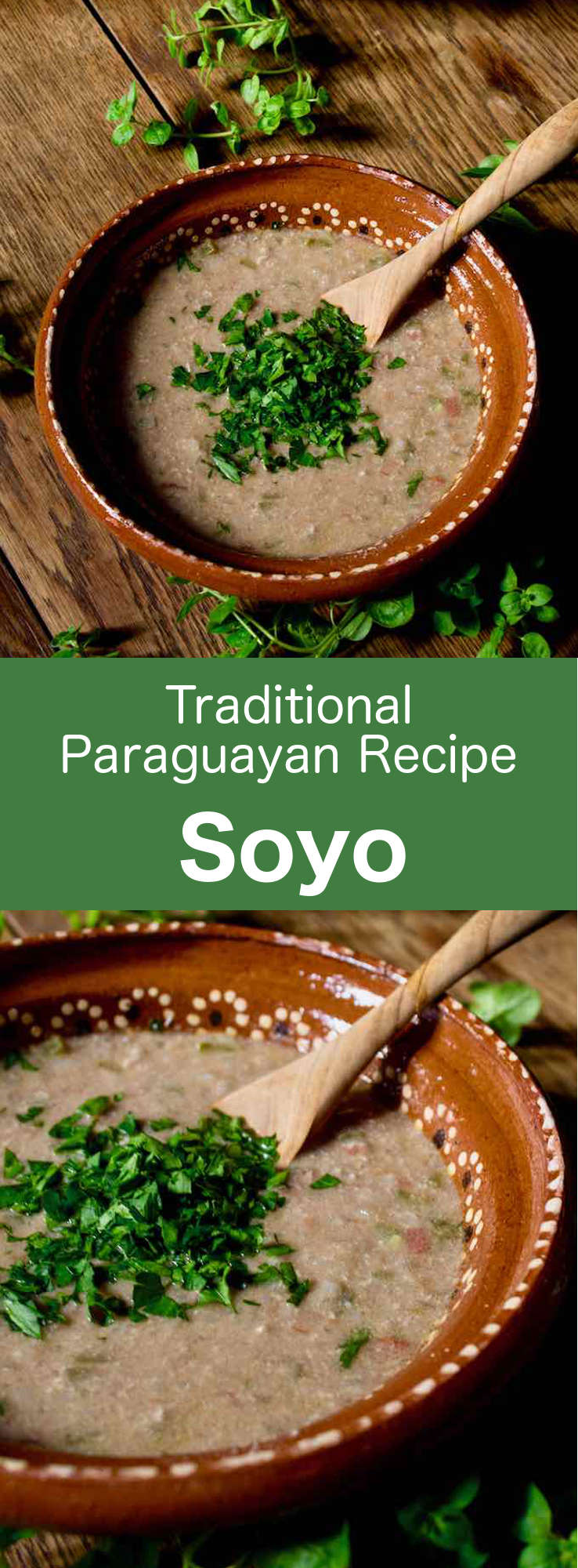 Soyo is a delicious traditional soup with ground beef and vegetables. A typical recipe of the cuisine of the Guarani people in Paraguay, this soup is usually consumed with Paraguayan tortillas or chipa guazu. #Paraguay #ParaguayanCuisine #ParaguayanRecipe #LatinAmericanCuisine #LatinAmericanRecipe #SouthAmericanCuisine #SouthAmericanRecipe #Guarani #GuaraniCuisine #WorldFlavors #196flavors